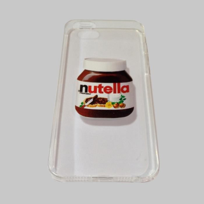 coque iphone 5 5s nutella coque swag ou original iphone cadeau nutella achat coque. Black Bedroom Furniture Sets. Home Design Ideas