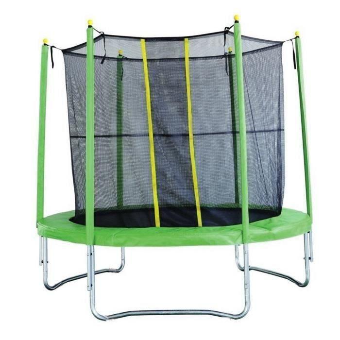 trampoline avec filet achat vente jeux et jouets pas chers. Black Bedroom Furniture Sets. Home Design Ideas