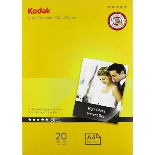 kodak premium papier photo pour impression jet achat. Black Bedroom Furniture Sets. Home Design Ideas
