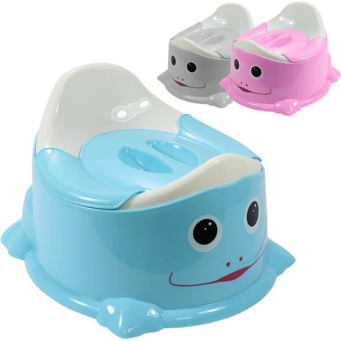 pot de toilette b b couvercle anti odeur bleu bleu achat vente pot 3662348001858. Black Bedroom Furniture Sets. Home Design Ideas