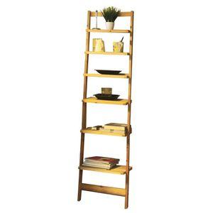 etagere escalier en bois achat vente etagere escalier en bois pas cher cdiscount. Black Bedroom Furniture Sets. Home Design Ideas