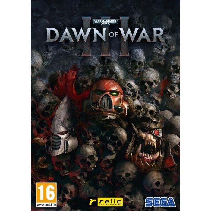 JEU PC NOUVEAUTÉ Warhammer 40,000 : Dawn Of War III Jeu PC