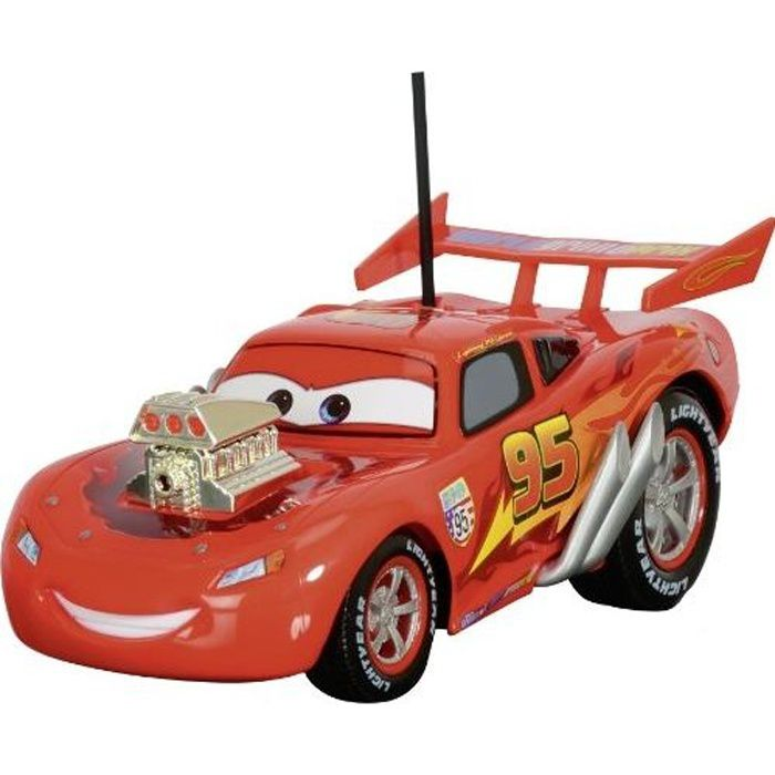 Cars disney rc red hot rod mcqueen achat vente voiture camion cdiscount - Voitures cars disney ...