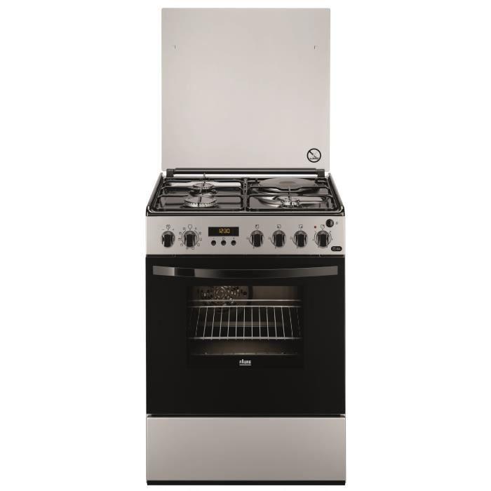 Faure fcm6560psa cuisinieres 60x60 3 foyers gaz achat vente cuisini re - Plaque 3 gaz 1 electrique ...