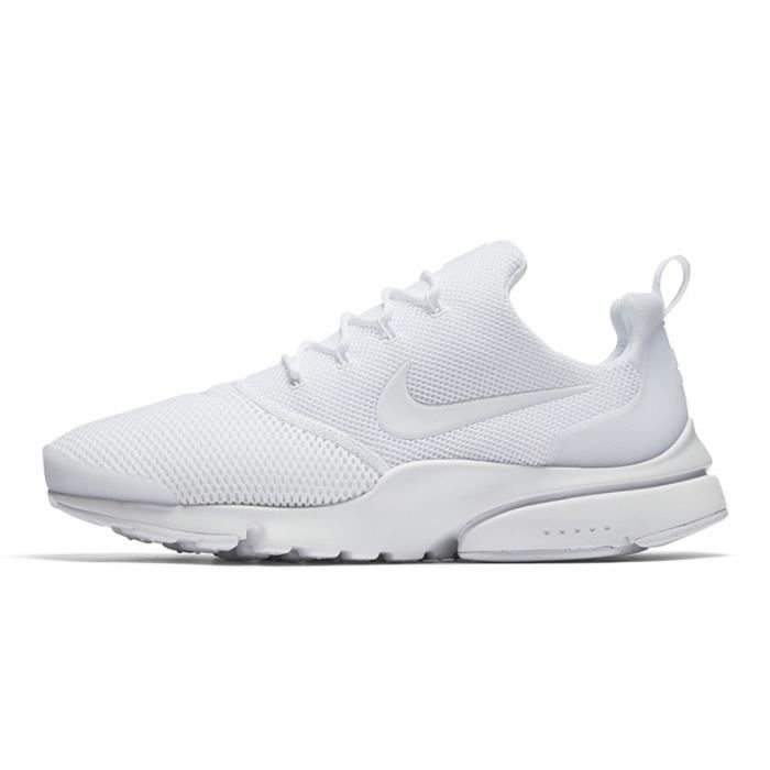 Nike Presto FLY Chaussures de course Baskets Blanc