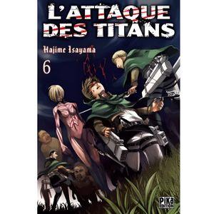 MANGA L'attaque des titans Tome 6