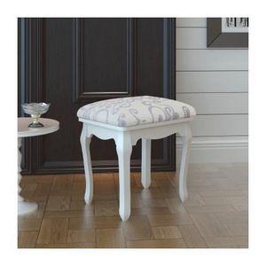 siege pour coiffeuse achat vente siege pour coiffeuse pas cher soldes cdiscount. Black Bedroom Furniture Sets. Home Design Ideas