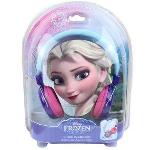 CASQUE AUDIO ENFANT La Reine des Neiges Casque audio Fille Elsa