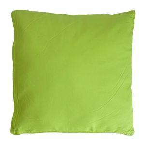 COUSSIN Coussin carré pour dossier de canapé 60 cm Anis