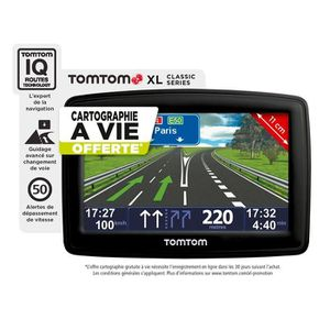 Navigation GPS TOMTOM XL CLASSIC NOIR EUROPE 23 PAYS