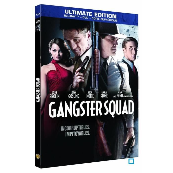 blu ray gangster squad en blu ray film pas cher cdiscount. Black Bedroom Furniture Sets. Home Design Ideas