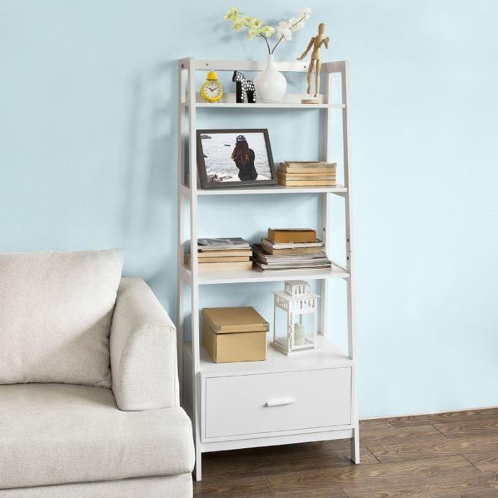 tag re style chelle de 4 niveaux et 1 tiroir achat vente etag re murale tag re style. Black Bedroom Furniture Sets. Home Design Ideas