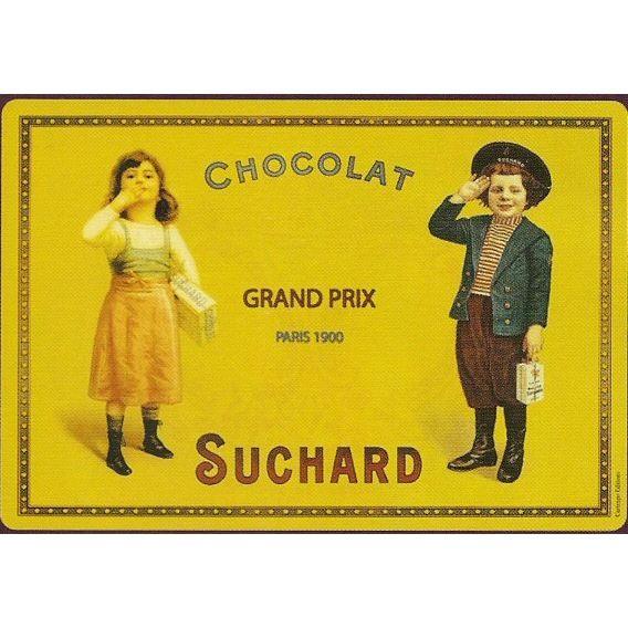 Set de table chocolat suchard grand prix paris achat vente chemin et set de table cdiscount for Grand set de table