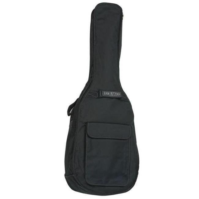 Tobago gb30f housse folk nylon noir std achat vente for Housse guitare acoustique