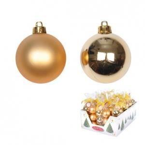 set de 6 boules de no l dor es achat vente boule de. Black Bedroom Furniture Sets. Home Design Ideas
