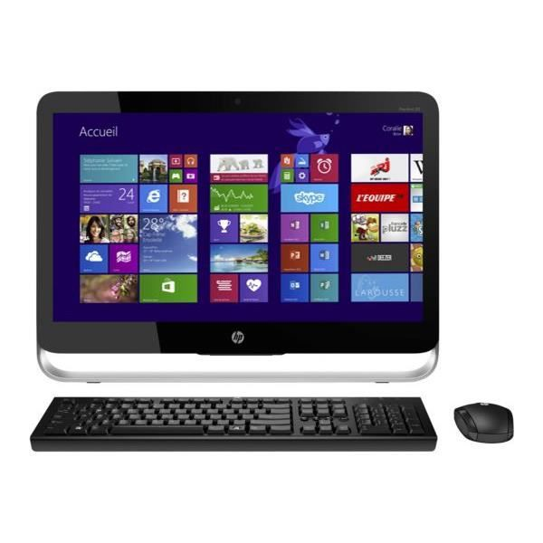 ordinateur tout en un tactile hp 23 p262nf achat vente ordinateur tout en un ordinateur tout. Black Bedroom Furniture Sets. Home Design Ideas