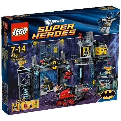 ASSEMBLAGE CONSTRUCTION Lego Super Héros - La Batcave