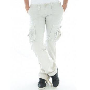 Pantalon treillis le temps des c gris achat vente pantalon pantalon treillis le temps des - Pantalon treillis femme le temps des cerises ...