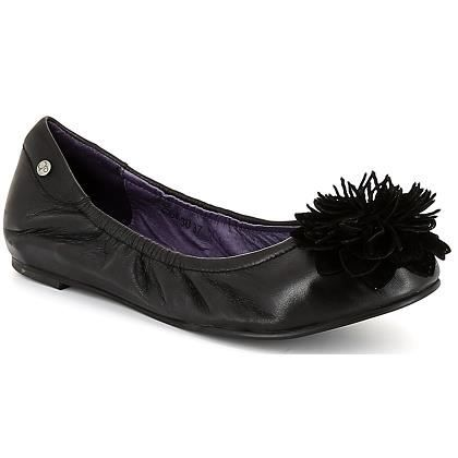 ballerines femme couleur pourpre 858 cuir noir achat vente ballerine ballerines couleur. Black Bedroom Furniture Sets. Home Design Ideas