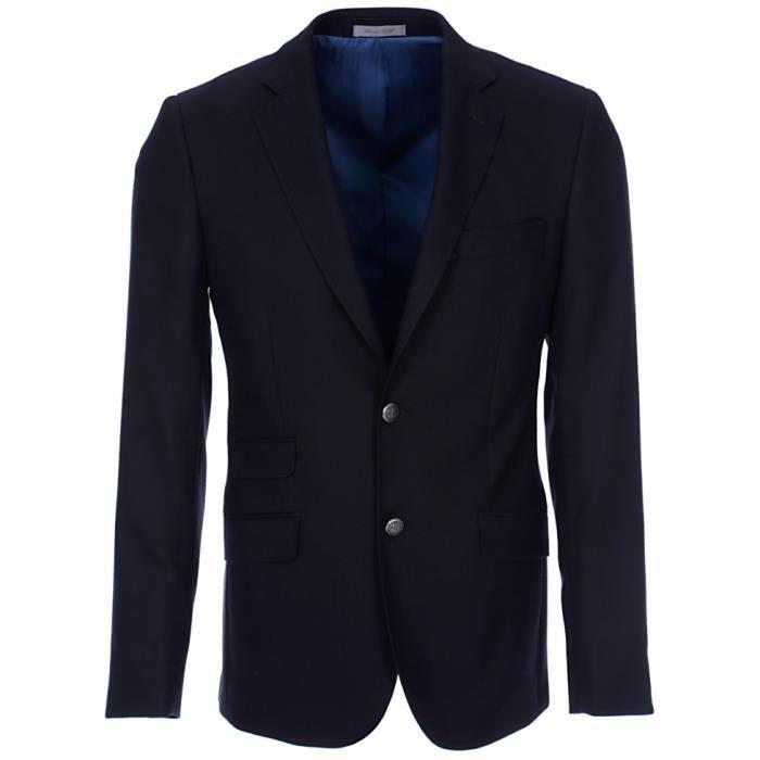 bruce field veste homme blazer h bleu marine gris achat vente veste cadeaux de no l. Black Bedroom Furniture Sets. Home Design Ideas