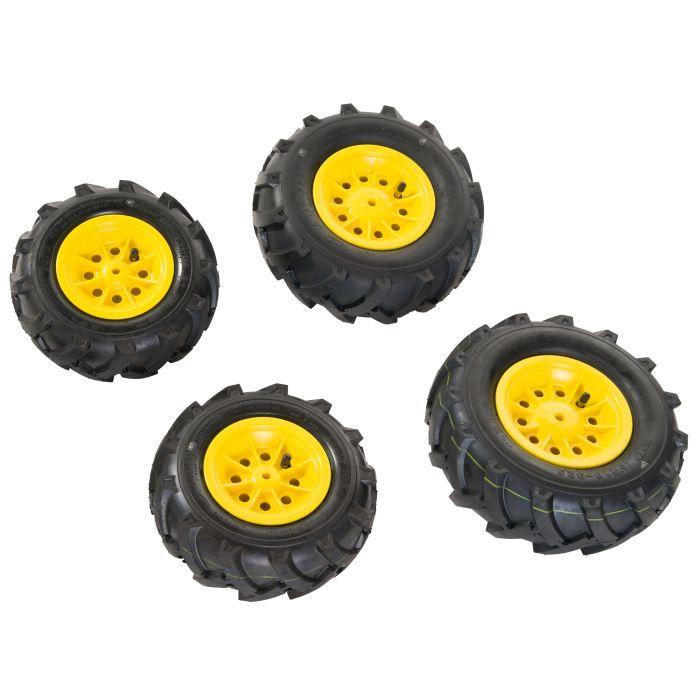 pneus gonflables jaunes 4 pi ces pour rol6011 achat vente accessoire vehicule soldes. Black Bedroom Furniture Sets. Home Design Ideas