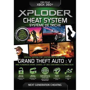 PACK ACCESSOIRE Xploder - Cheats GTA 5 - Accessoires Xbox 360