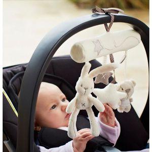 POUPÉE Musique de bébé lapin suspendus lit sécurité siège