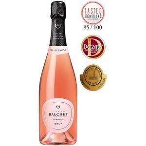 CHAMPAGNE Champagne Bauchet, Séduction Rosé, Brut