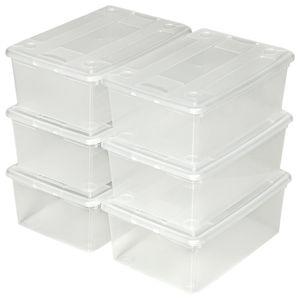 Boite de rangement plastique achat vente boite de - Boites de rangement pas cher ...