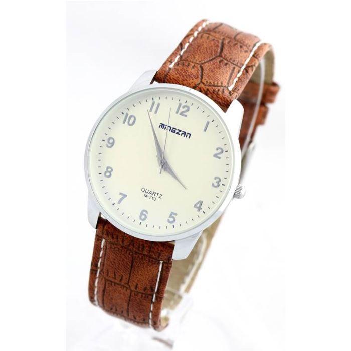 montre homme bracelet cuir marron 933 achat vente montre homme adulte cuir marron cuir. Black Bedroom Furniture Sets. Home Design Ideas