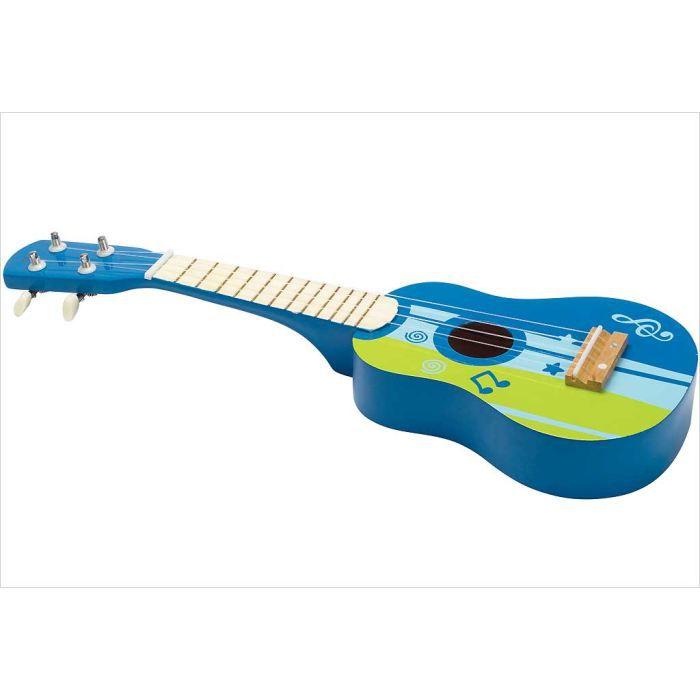 jouet guitare en bois bleue hape achat vente. Black Bedroom Furniture Sets. Home Design Ideas