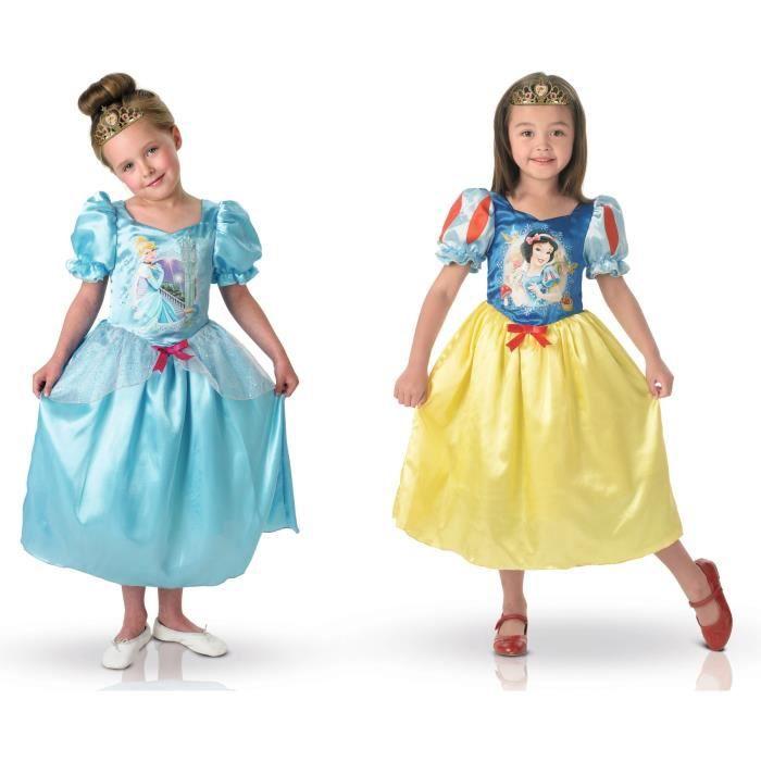Vente robe princesse disney pas cher - Deguisement princesse des neiges ...