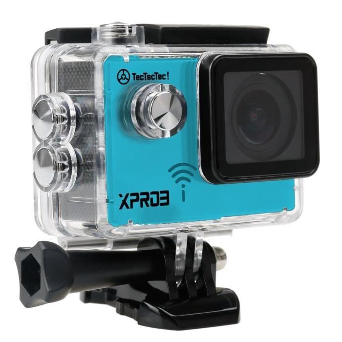 tectectec tectectec xpro3 cam ra sport 4k wifi camera photovideopascher. Black Bedroom Furniture Sets. Home Design Ideas