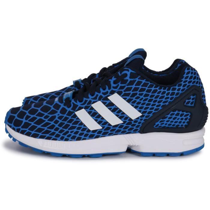 adidas original zx flux bleu