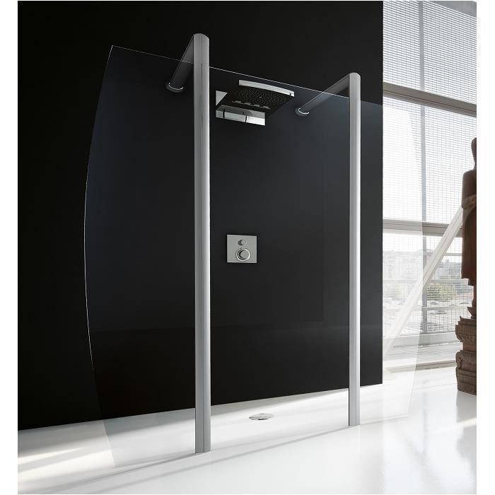 Paroi de douche sun 4 45 90 45 cm achat vente douche receveur paroi de - Paroi de douche 90 cm ...