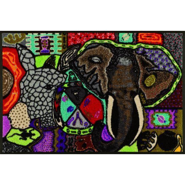 Tapis Design Wild Life 50 X 75 Achat Vente Paillasson Cadeaux De No L Cdiscount