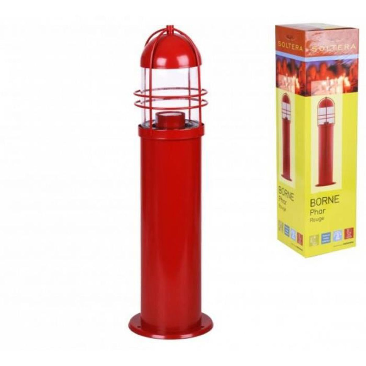 Borne de marine phare eclairage lampe de jardin electrique for Eclairage jardin led electrique