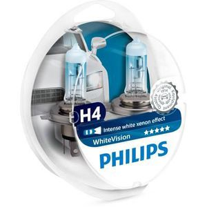 PHILIPS Ampoule WhiteVision 2 H4 12V 60/55W