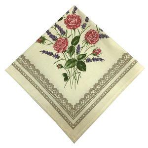 serviette de table achat vente serviette de table pas cher les soldes sur cdiscount. Black Bedroom Furniture Sets. Home Design Ideas
