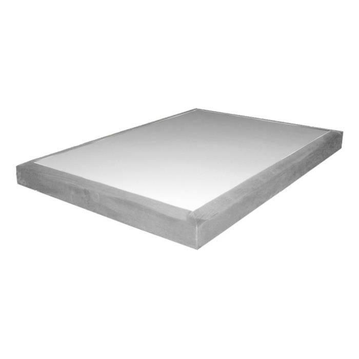 Alitea deco sommier deco gris 2x80x200 achat vente sommier cdiscount - Sommier 2 x 80 x 200 ...