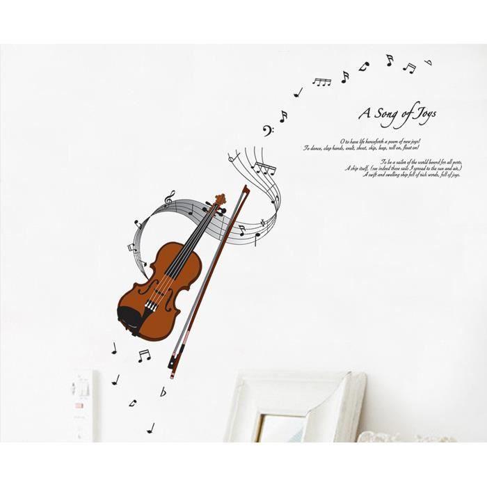 decoration murale note de musique. Black Bedroom Furniture Sets. Home Design Ideas