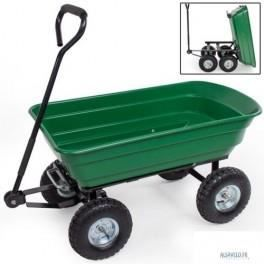 Chariot de jardin remorque benne basculante 300 kg achat for Brouette 4 roues pour jardin