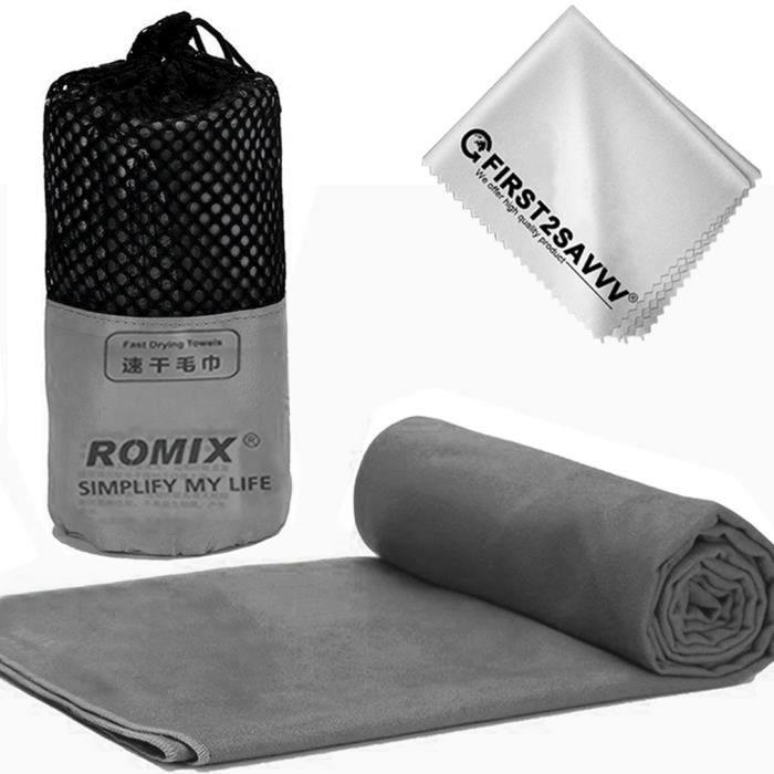 serviette microfibre s chage rapide id al pour plage piscine gym voyage camping yoga yd. Black Bedroom Furniture Sets. Home Design Ideas