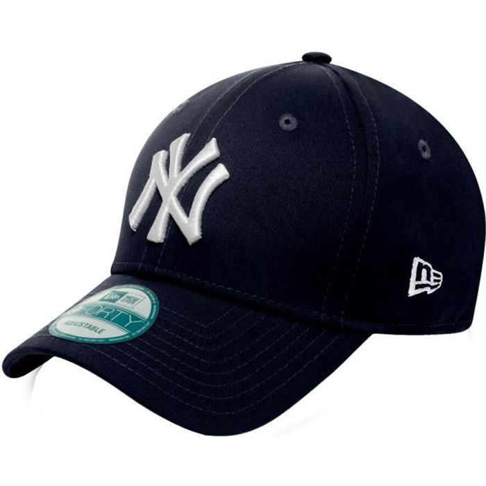 new era 9forty casquette new york yankees navy bleu. Black Bedroom Furniture Sets. Home Design Ideas