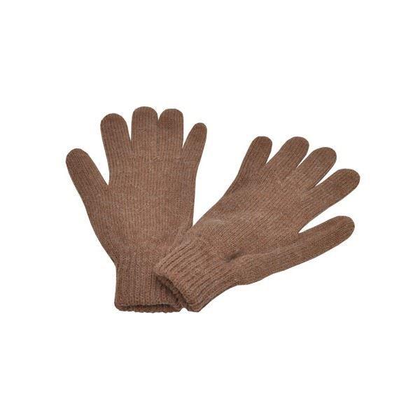 gants en laine caf femme homme marron achat vente gant mitaine 3700651216863 cdiscount. Black Bedroom Furniture Sets. Home Design Ideas