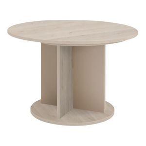 Table ronde extensible achat vente table ronde for Table de repas ronde avec rallonge