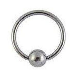 anneau boule acier piercing t ton taille achat vente barre droite anneau boule. Black Bedroom Furniture Sets. Home Design Ideas