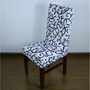 Housse de chaise dossier haut achat vente housse de for Housse chaise salle a manger
