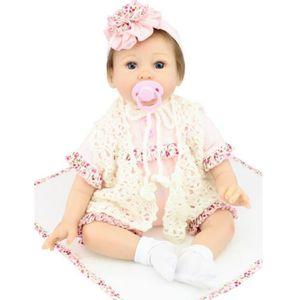 POUPÉE OFELI® 22 pouce 55 cm bébé reborn Silicone poupées