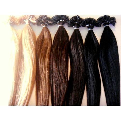 100 extensions de cheveux 50cm pose a chaud noir achat vente perruque postiche 100. Black Bedroom Furniture Sets. Home Design Ideas